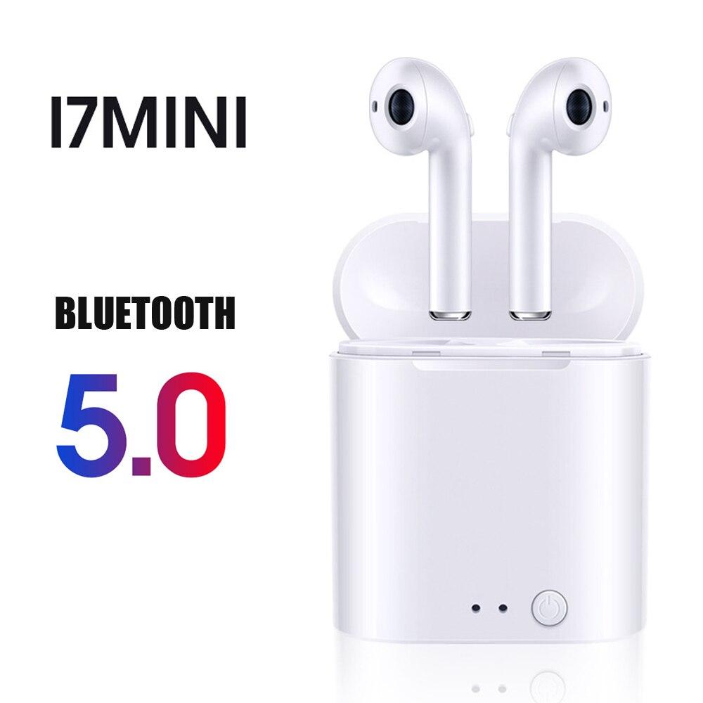 I7s I12 TWS I7mini Wireless Bluetooth Headset Bluetooth 5.0 Sports Headphone Earbuds For Samsung IPhone Xiaomi Huawei Smartphone