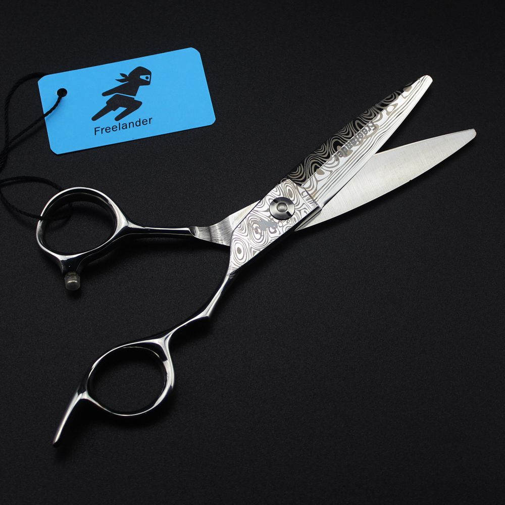 Professional 6 inch Hair Scissors Japan 440c Steel Shears Cutting Barber Makas Hairdressing