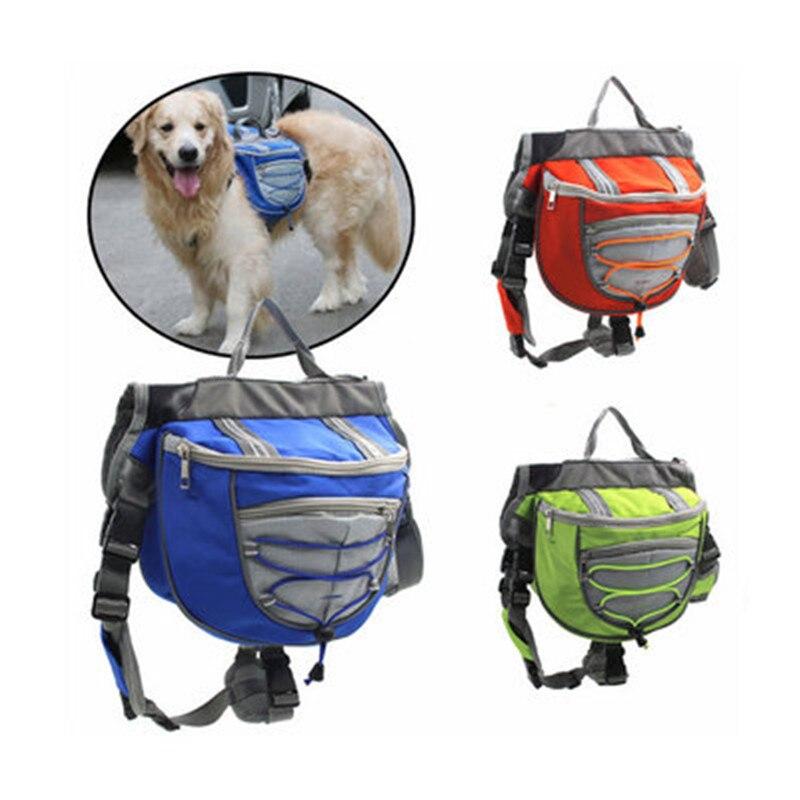 Переносная сумка-переноска для собак, переносная сумка для путешествий на открытом воздухе, регулируемая седельная сумка, дышащая