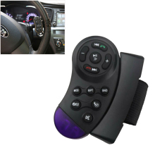 1pc Universal Car Steering Wheel Remote Control Switch Vehicle MP3 DVD Stereo Button Car Goods High Quality