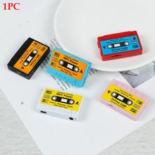 Tape Shape Mini MP3 Player Cute Sport Music Rechargeable USB Port Retro  Support TF Card Reader Kid Children Gift