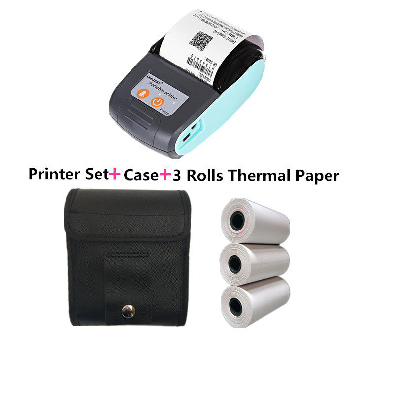 Wireless Inkless Thermal Printer Supplies Thermal