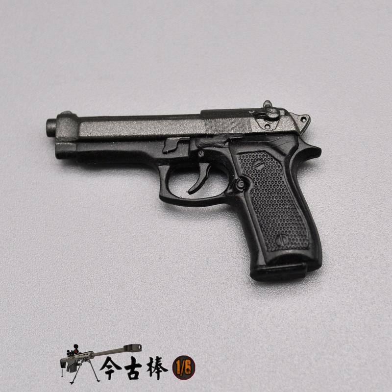 1/6 Soldier Beretta M92F Toy Pistol Model 12 Inch Male And Female Soldier Dolls Are Available Not Real Guns In Stock