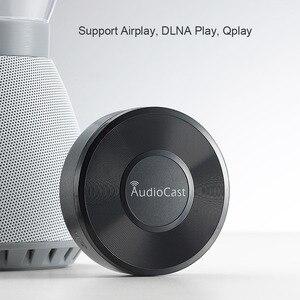 Image 4 - Audiocast M5 kablosuz müzik flama WIFI müzik alıcısı ses ve müzik hoparlör sistemi çok oda akışı DLNA Airplay adaptörü