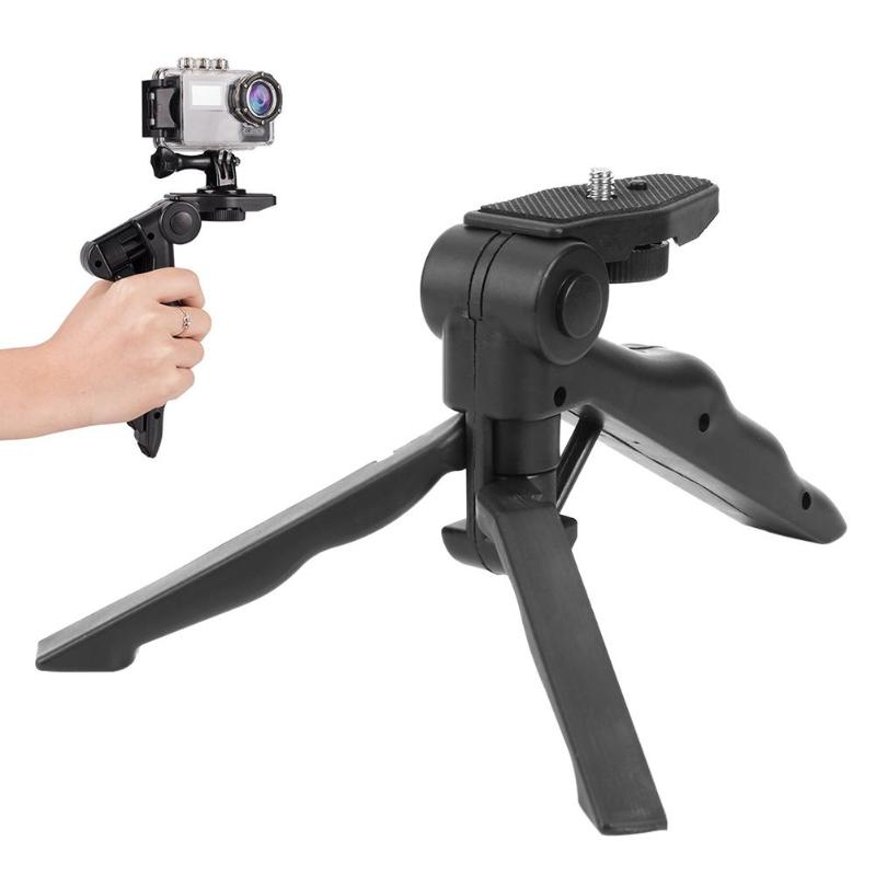 Handheld Desktop small tripod Portable Flexible Camera mini Tripod Stability Bracket Stand Holder for GoPro Accessories