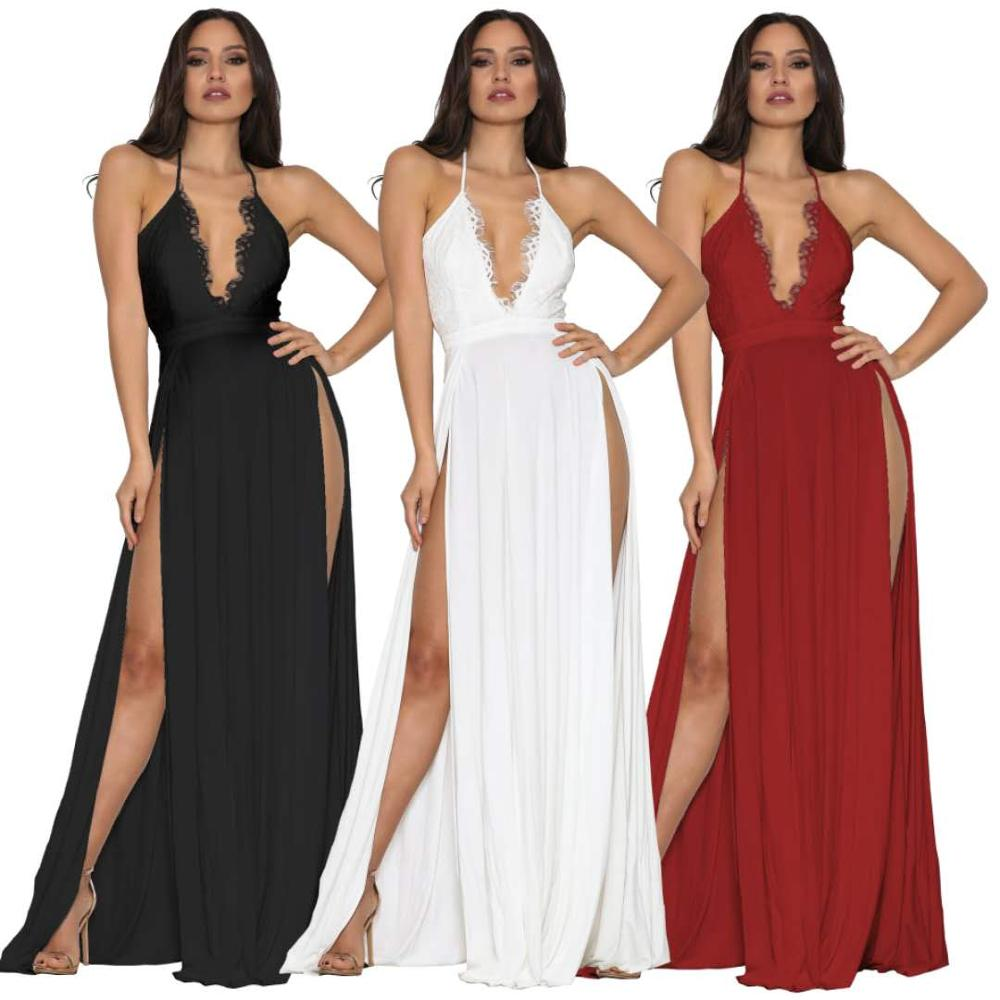 2020 Hot Selling  formal dress chiffon  Low Back Evening Dresses Party Gowns Custom Made Size 4 6 8 10 12 14 16 18+ E83
