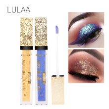 12 color square tube glitter diamond eye shadow pigment glit