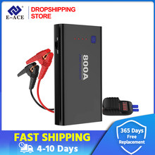 Dropshipping Car Emergency Power 800A 12V Car Jump Starter Power Bank Battery Charger Booster Battery Starting Device