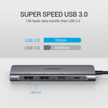 USB C HUB Type C to Multi USB 3.0 HUB HDMI Adapter Cellphones & Telecommunications