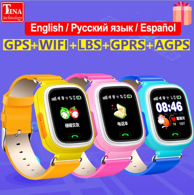 Watch Gps-Phone Touch-Screen Q80 WIFI Positioning Q60 Q50 Children Q90 Fashion New-Arrival