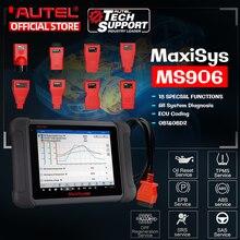 Autel MaxiSys MS906 samochodowy System diagnostyczny potężny niż MaxiDAS DS708 i DS808 bezpłatna aktualizacja online
