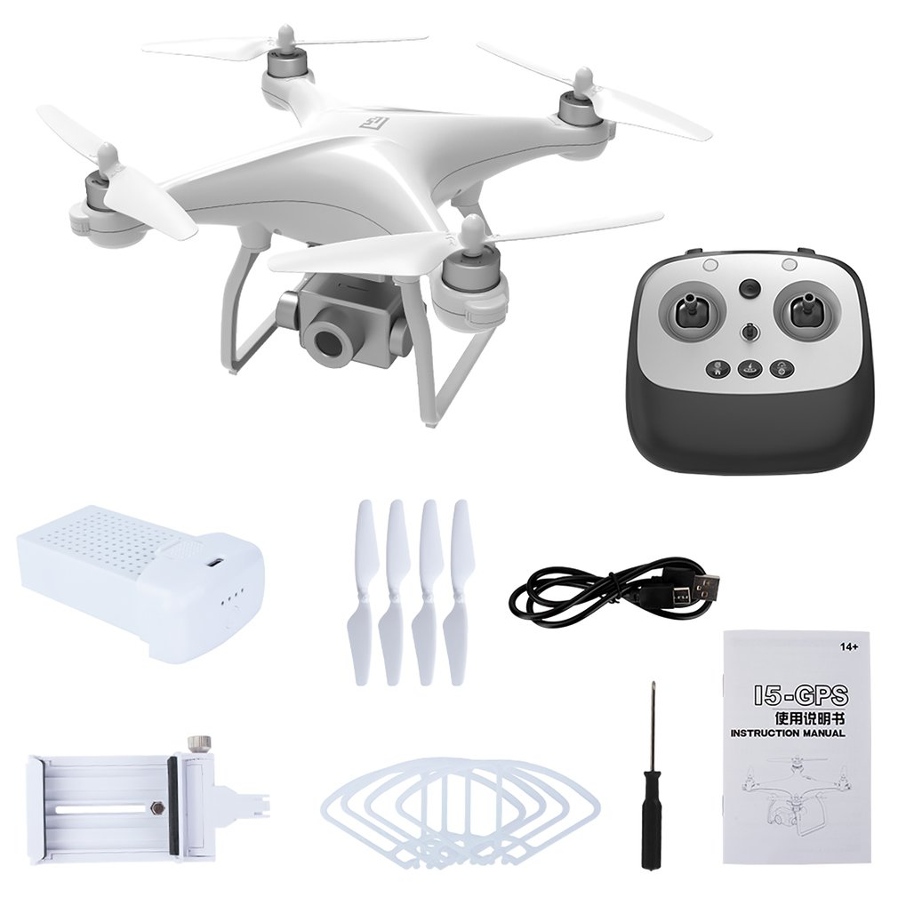 New L5 GPS Drone WiFi 4K HD Camera Professional Drones Three Axis Anti Shake Gimbal Stable Shooting Brushless Motor