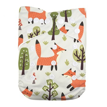 Reusable Breathable Baby Girl Pocket Cloth Diaper Cover недорого