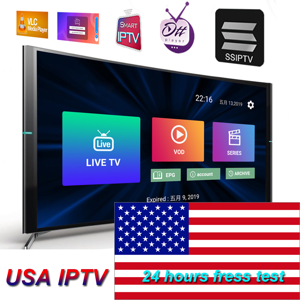 USA IPTV M3U 1 Year Subscription For Local Sports Movies XXX Channel 9000+ LIVE English VOD Sup Enigma2 Box Android Smarts IPTV
