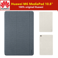 100% Original HUAWEI MediaPad M6 10.8 inch Tablet Case Leather Flip Cover Magnetic Stand Smart Sleep Wake Up M6 Funda Case