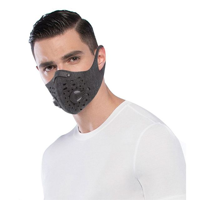PM2.5 Cycling Mask  Sport Face Mask  Activated Carbon Filter Anti-Pollution Running Training Cycling Mask 2