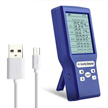 Tragbare CO2 Meter Mini ppm co2 Sensor Air Qualität Monitor Kohlendioxid Detektor Gas Analyzer Detector Air Qualität Tester