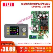 RD DPS5020 sabit voltaj akım DC  DC adım aşağı İletişim güç kaynağı buck gerilim dönüştürücü LCD voltmetre 50V 20A