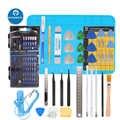 PHONEFIX 100 en 1 Kit d'outils de réparation de précision outils de réparation d'ouverture d'écran LCD 56 pièces jeu de tournevis pour outils à main de téléphone portable