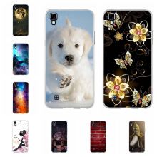 For LG X power K220DS K220 Case Soft TPU Silicone LS755 US610 Cover Scenery Patterned K450 Coque