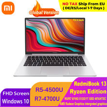 Xiaomi RedmiBook 13 Laptop Ryzen Edition Notebook AMD Ryzen 4700U/4500U Display da 13.3 pollici 512GB/1T SSD Computer Windows 10