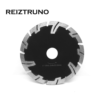 REIZTRUNO 125mm Diamond saw Blades T-Segmented Dry Cutting Saw for Granite Stone Concrete cutting blades with protective teeth no 6 twist plaster saws jewelry spiral teeth saw blades cutting blade for bow saw eight kinds of sizes 144 pcs bag