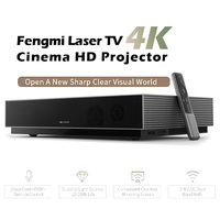 Xiaomi Fengmi L176FCN Laser Projector TV 4K Cinema HD Projector 150 Inch Home Theater 2GB+64GB 1700ANSI ALPD 3.0 3D Projector