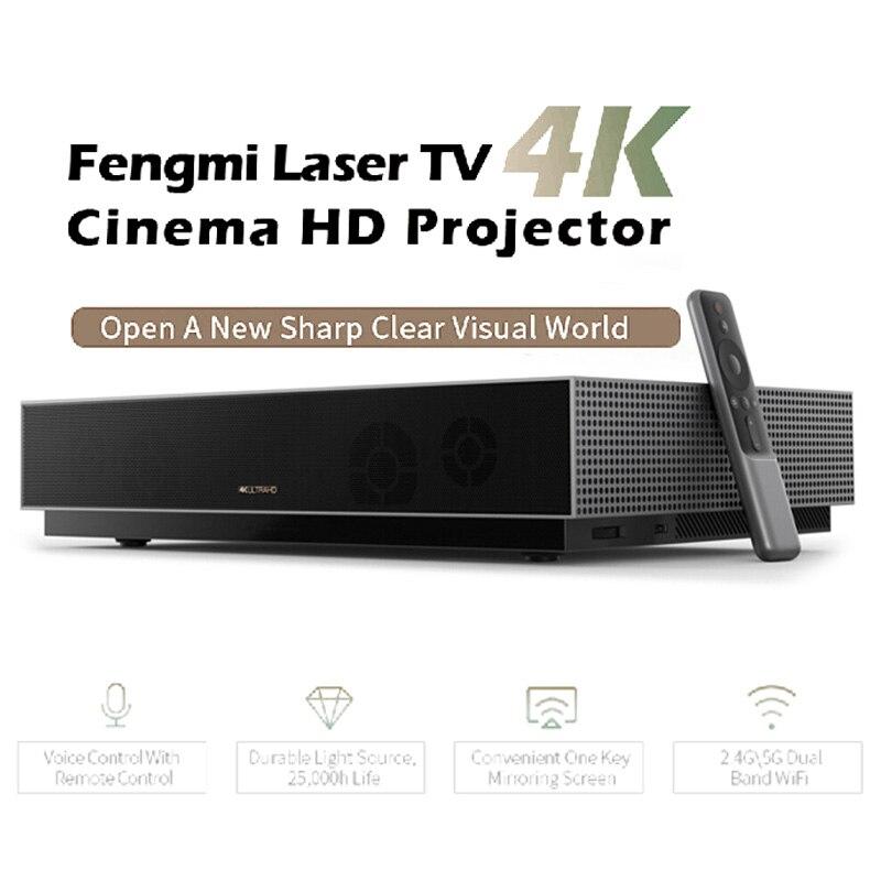 Xiaomi Fengmi L176FCN projecteur Laser TV 4K cinéma HD projecteur 150 pouces Home cinéma 2GB + 64GB 1700ANSI ALPD 3.0 projecteur 3D