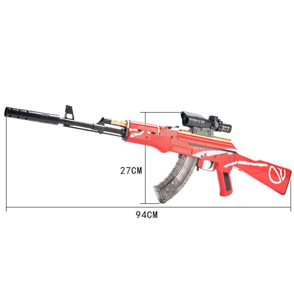 Manual de plástico arma de brinquedo akm