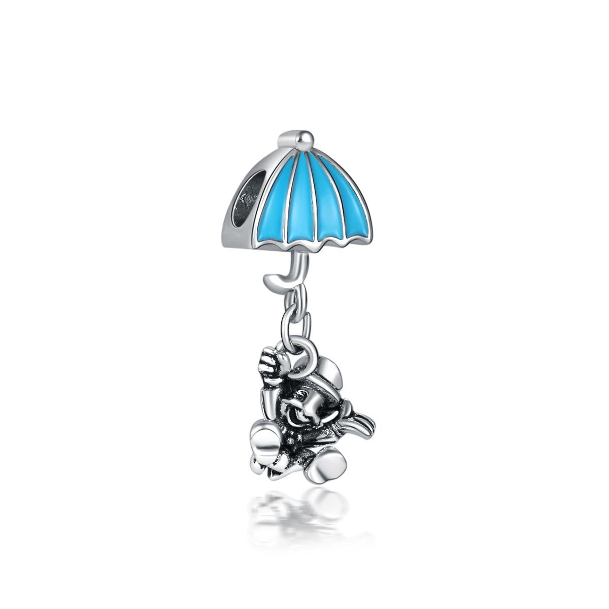 Новинка, сплав, шарик Микки и Минни, сказочный Дамбо, любовь, шарм, подходит для Пандоры, браслет, ожерелье, сделай сам, Женские Ювелирные изделия - Цвет: Jiminy Cricket