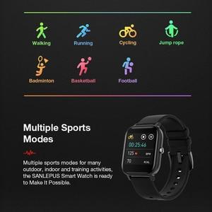Image 5 - SANLEPUS Full screen touch Smart Watch Wristband Men Women Sport Watch Face Heart Rate Monitor Sleep Monitor IP67 Smartwatch