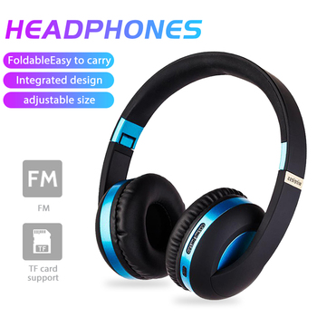 Gaming Headsets Wireless Bluetooth5.0 Headphones Foldable HIFI Stereo Music Headset 120hours Sports