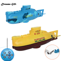 RC Boat Mini Submarine 3CH Warship Remote Control High Speed Ship Electronic Model for Christmas Kids Gift Hobby Toys Christmas