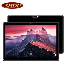 SHDU 10.1 inch 3G Phone Call Tablet Pc Android 7.0 Quad Core Google Play 2GB ram 32GB rom Dual SIM Cards WiFi Tablets 10 9 inch a33 allwinner android 4 2 quad core google tablet pc 8gb keyboard bundle