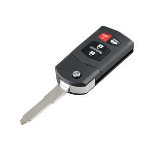 Image 3 - KPU41788 3/4 przyciski pilot zdalnego sterowania samochodu dla Mazda 6 Sedan RX 8 2005 2006 2007 2008 etui z klapką inteligentny klucz samochodowy 313.8MHz 4D63 układu