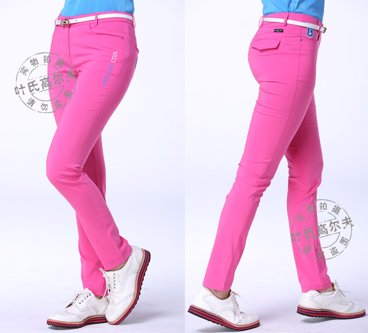 2020 new golf pants spring thin quick dry trousres golf clothing women Elastic cloth