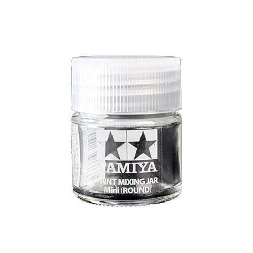 2pcs X Tamiya 81044 Acrylic Paint Mixing Jar Mini Round Empty Bottle 10ml Craft Tools