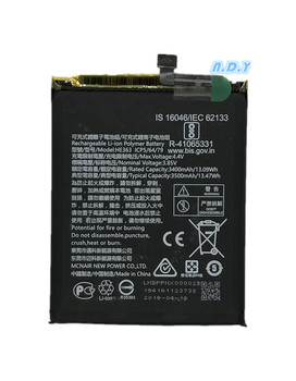 Original HE363 3500mAh Battery For Nokia X7 TA-1131 TA-1119/Nokia 8.1 TA-1119 TA-1128 HE 363 Batteries Bateria replacement bateria bl 5k battery for nokia c7 n85 n86 n87 x7 00 c7 00 c7 x7 battery 5k bl5k