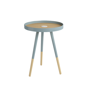 Nordic Sofa Table Modern Minimalist Living Room Designer Furniture Round Creative With Charging Corner Table Small Coffee Table