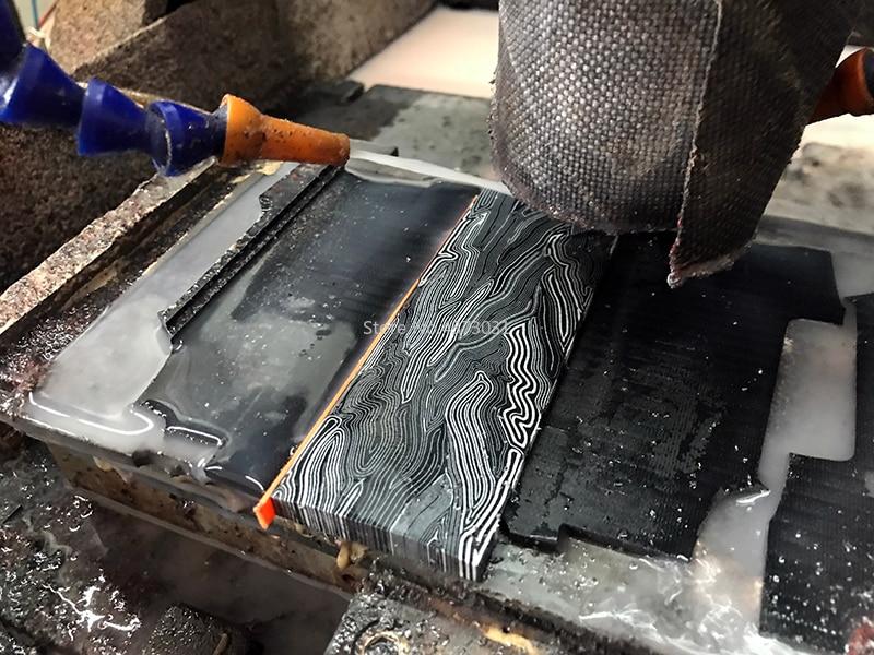 2Pcs-G10-Micarta-Template-Board-Sheet-Damascus-Canvas-material-For-DIY-Knife-handle-Craft-Supplies-130X45X8mm (1)