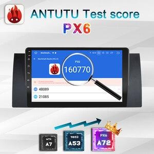 Image 4 - 2 Din Android 10 Autoradio PX6 Voor Bmw E39 E53 X5 M5 1999 2006 Multimedia Auto Stereo Auto audio Screen Navigatie Gps Bluetooth