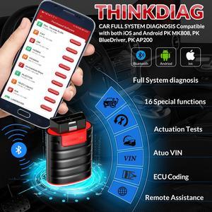 Image 3 - Thinkdiag עם מלא תוכנת מלא מערכת OBD2 סורק Bluetooth 16 איפוס שירותי קוד קורא הארכת כבל PK AP200 easydiag