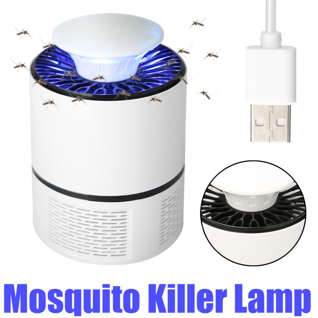 190*130mm 5V 5W USB Mosquito Killer Electric LED Insect Lamp Catcher Mosquito Trap Zapper Home Bedroom Pest Control