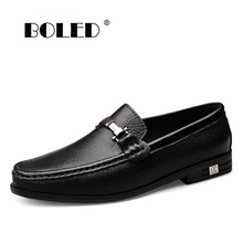 Large Size Genuine Leather Shoes Men High Quality Soft Loafers Moccasins Slip On Men Flats Comfy Driving Men Casual Shoes new handmade casual shoes men high quality genuine leather soft loafers moccasins slip on male flats driving shoes lazy slippers