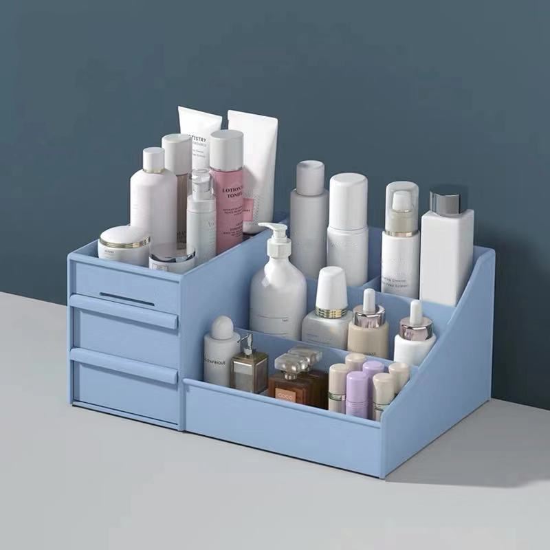 Home Dresser Finishing Box Desktop Plastic Products Skin Care Products Jewelry Makeup Tool Stationery Plastic Drawer Storage Box