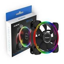 Alseye halo вентилятор охлаждения для ПК 4 pin pwm 120 мм статический