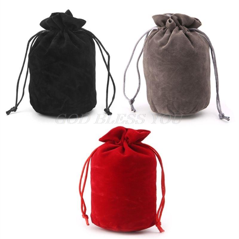 Бархатный мешок для игральных костей для подземей и драконов, упаковка для ювелирных изделий, сумка на шнурке для настольной игры, Прямая по...