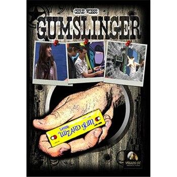 GumSlinger de Chris Webb y Wizard FX Productions trucos de Magia Tarjeta de primer plano etapa de truco Magia Street Mentalism ilusiones