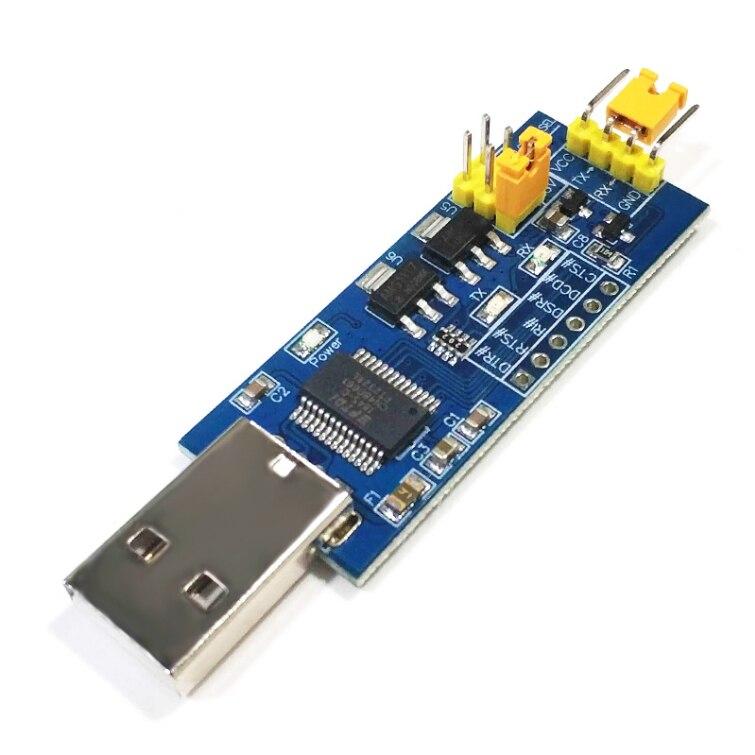 Модуль последовательного порта USB FT232RL для TTL последовательного порта маленькая плата 5 в 3,3 в 1,8 в уровень загрузки сгорающей линии