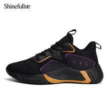 Модные дышащие мужские кроссовки для взрослых спортивные на